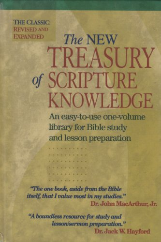 9780785212270: The New Treasury of Scripture Knowledge