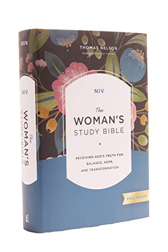 9780785212379: NIV, The Woman's Study Bible, Hardcover, Full-Color: Receiving God's Truth for Balance, Hope, and Transformation