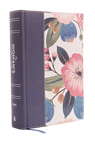 Niv the Womans Study Bible Cloth Over Board Blu Format: Hardcover