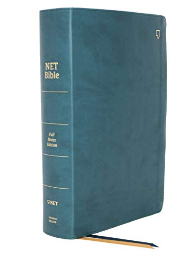 9780785225102: NET Bible, Full-notes Edition, Leathersoft, Teal, Thumb Indexed, Comfort Print: Holy Bible