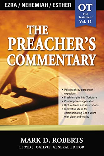 9780785247852: The Preacher's Commentary - Vol. 11 - Ezra, Nehemiah, Esther