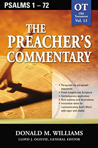 9780785247876: Psalms 1-72 (The Preacher's Commentary, Volume 13)