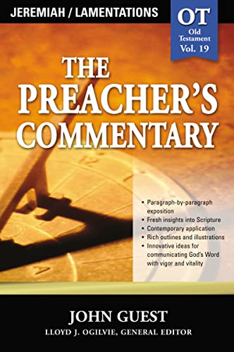 9780785247937: Jeremiah & Lamentations (The Preacher's Commentary, Volume 19)