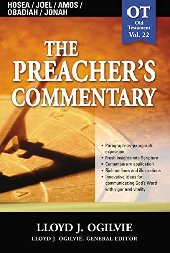 9780785247968: Preacher's Commentary, Vol. 22: Hosea/Joel/Amos/Obadiah/Jonah