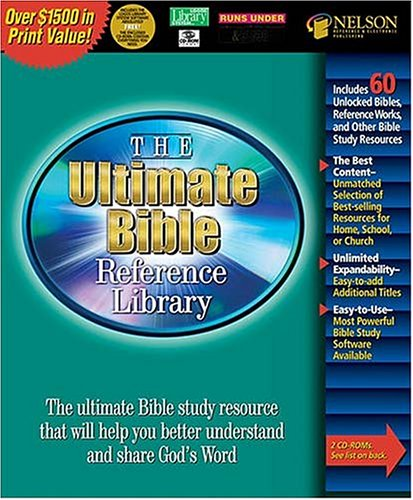 9780785249955: The Ultimate Bible Reference Library