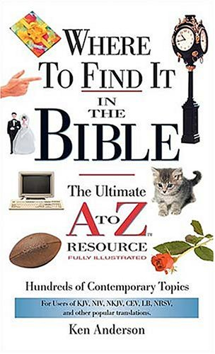 9780785250036: Where to Find It in the Bible: Mass Market Edition (A to Z Series)