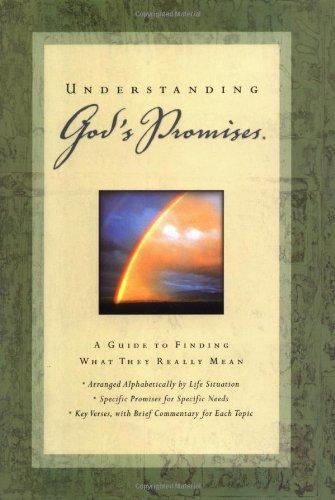 Understanding Gods Promises: Nelson Reference Books