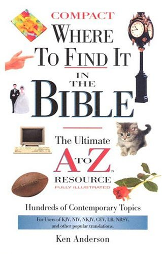 9780785251941: WHERE TO FIND IT IN THE BIBLE-COMPACT-SUPERSAVER (A to Z Series)