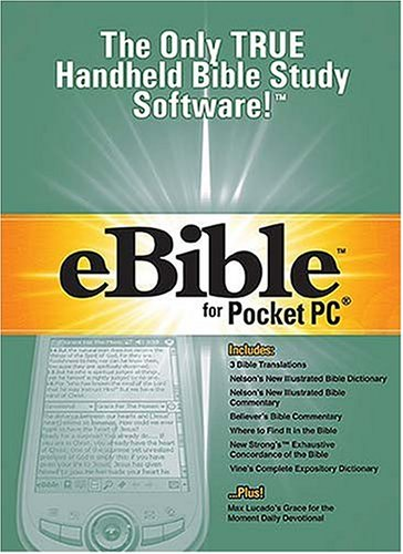 9780785252139: eBible for Pocket PC: The Only TRUE Handheld Bible Study Software!