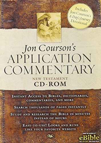 9780785252160: Jon Courson's Application Commentary: New Testament