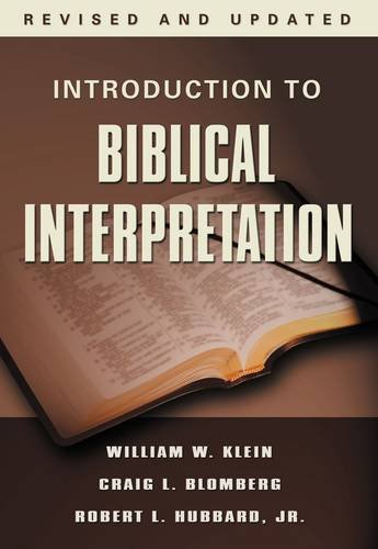 9780785252252: Introduction to Biblical Interpretation, Revised Edition