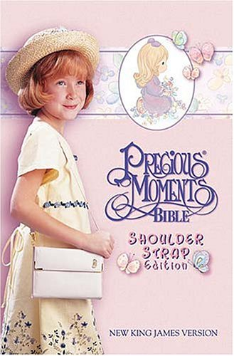 9780785255079: Precious Moments Bible, Small Hands, Shoulder Strap Edition