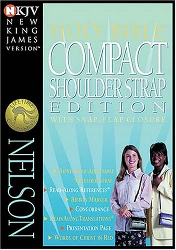 Compact Shoulder Strap Bible Our Compact Bible Now Made Portable: Thomas Nelson