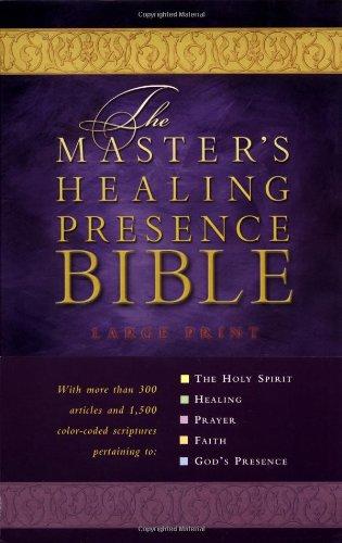 9780785256823: The Master's Healing Presence Bible KJV: Master's Presence Healing Bible