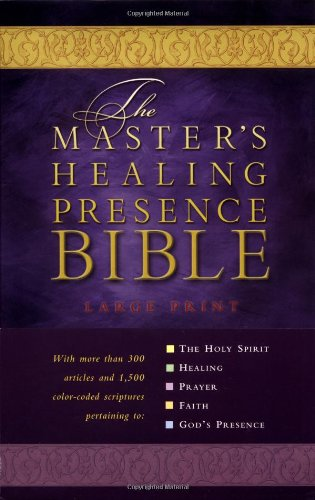 9780785256823: The Master's Healing Presence Bible