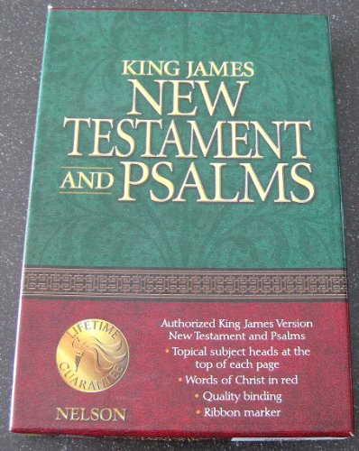 9780785257752: Coat Pocket New Testament with Psalms