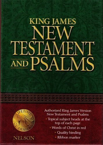 9780785257769: Coat Pocket New Testament with Psalms