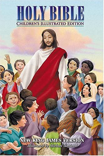 Holy Bible, Children's Illustrated Edition Beautiful Art To Draw Kids Into The Scriptures: ...