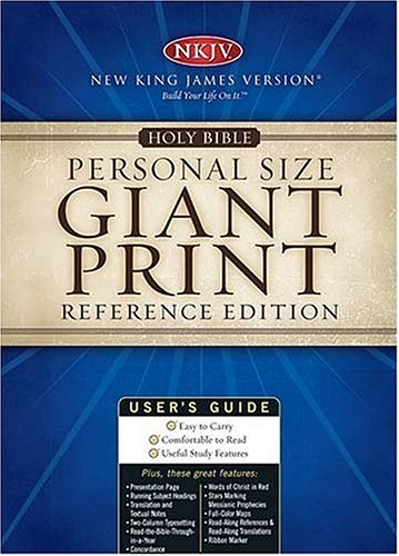 Personal Size Giant Print Reference Edition (9780785257868) by [???]