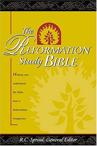 9780785258599: The Reformation Study Bible: New King James Version/Black Genuine Leather