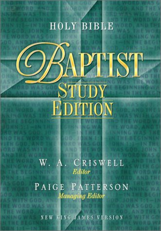 9780785258766: Holy Bible: Baptist Study Edition