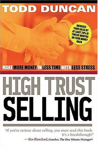 9780785261643: High Trust Selling