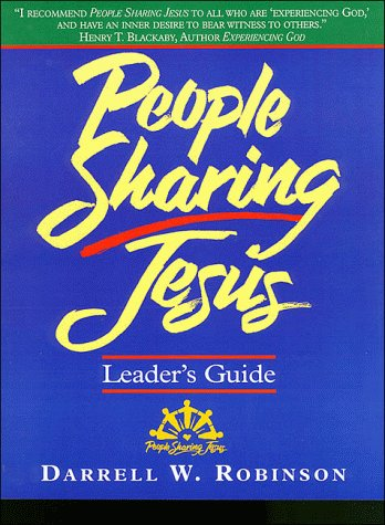 People Sharing Jesus: Leader's Guide: Jerry Pipes