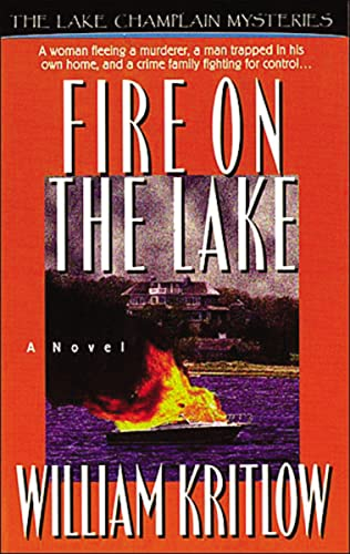 9780785280996: FIRE ON THE LAKE (Lake Champlain Mysteries)