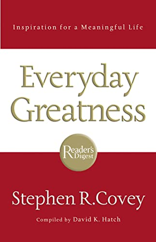 9780785289593: Everyday Greatness: Inspiration for a Meaningful Life