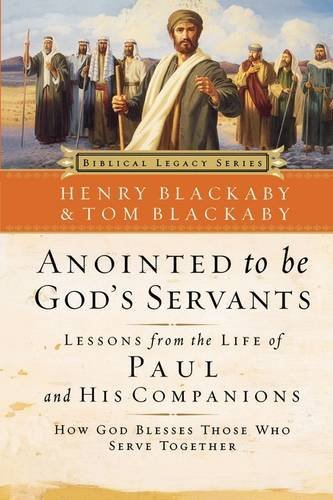 9780785297420: BLS: Annointed to be God's Servant (Biblical Legacy)