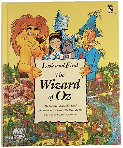 9780785300663: The Wizard of Oz (Look and Find Series)