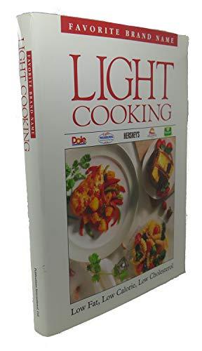 9780785300809: Favorite Brand Name Light Cooking