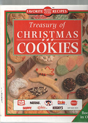 9780785303091: Treasury of Christmas cookies (Favorite brand name recipes)