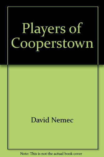 9780785303367: Players of Cooperstown: Baseball's hall of fame