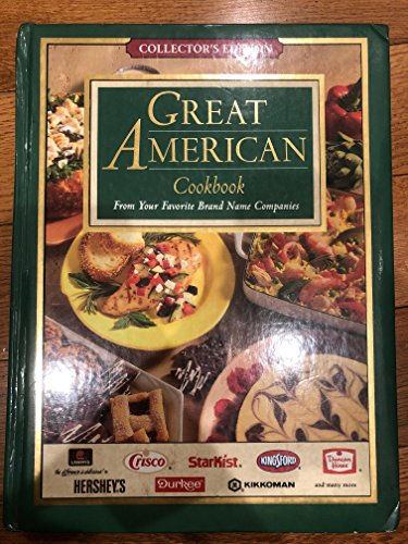Great American Cookbook: Various Authors