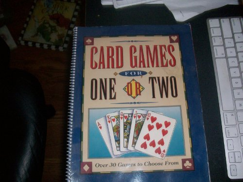 9780785307495: Card Games for One Or Two