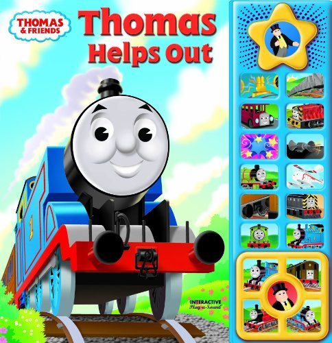 Thomas & Friends Play-a-Sound Book, Thomas Helps Out: Editors of Publications International Ltd...