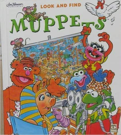 9780785317296: Look and Find Muppets