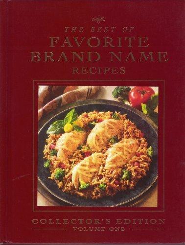 9780785320982: Best of Favorite Brand Name Recipes Volume 1