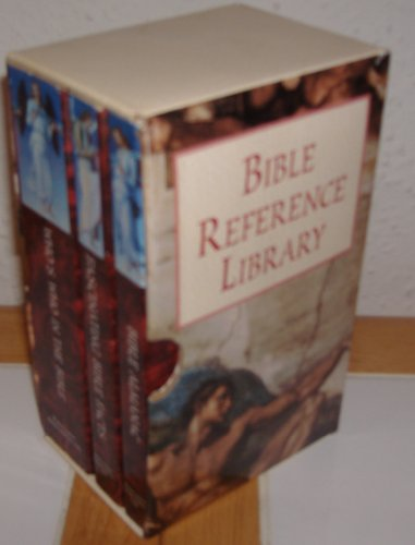 BIBLE REFERENCE LIBRARY 3 Volumes In Slipcase