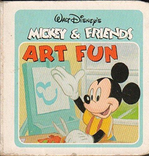 9780785336921: Art Fun (Walt Disney's Mickey & Friends)