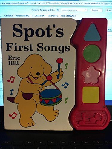 9780785342243: Spot's First Songs