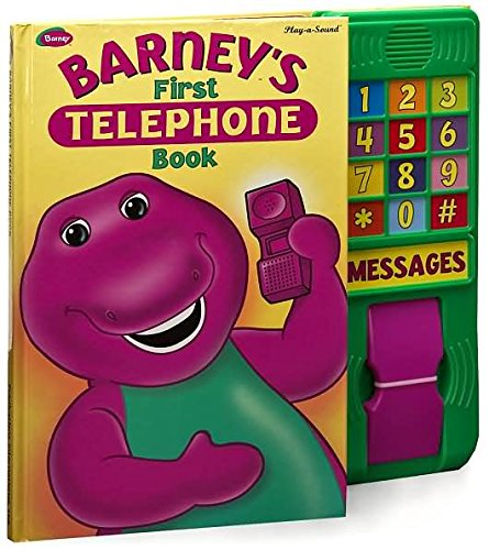 9780785345381: Barney's First Telephone Book