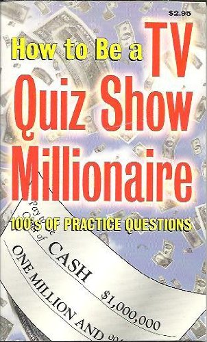 9780785346203: How to Be a TV Quiz Show Millionaire