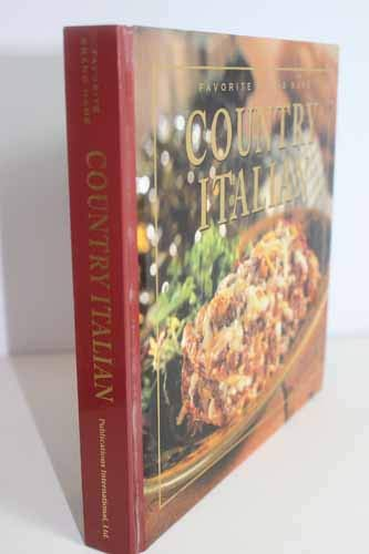 9780785351665: Country Italian (Favorite Brand Name/Best-Loved Recipes)