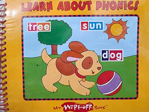 9780785363088: Learn About Phonics (My Wipe-Off Book)