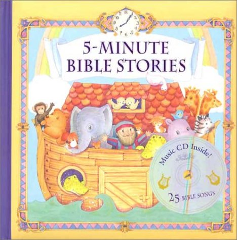 5-Minute Bible Stories with Music CD: Publications International
