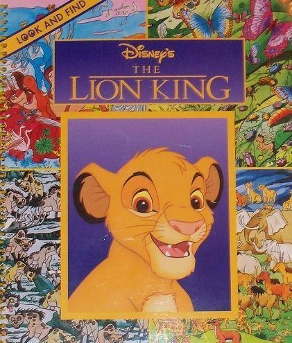 9780785367833: Disney's The Lion King - Look and Find