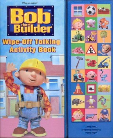9780785370055: Bob the Builder Wipe-Off Talking Activity Book