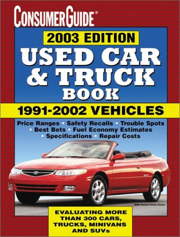 9780785372783: 2003 Used Car Book (Consumer Guide Used Car & Truck Book)